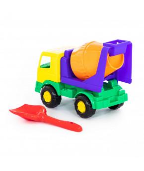 Автомобиль - бетоновоз лопатка Полесье №5 Набор №187 Мираж