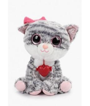 Мягкая игрушка Fancy Глазастик Кошечка