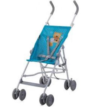 "Детская коляска ""Lorelli"" Flash Blue Hello Bear"