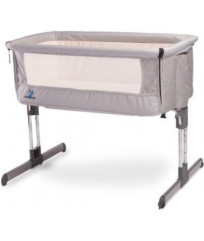 Кровать-манеж Carateo sleep2gether Grey