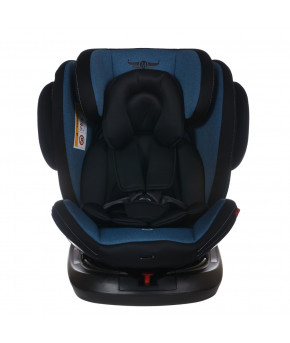 Автокресло Martin noir Grand Fix 360 Melange Blue (0-36кг)