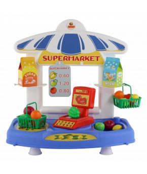 Набор продавца Полесье настольный Супермаркет