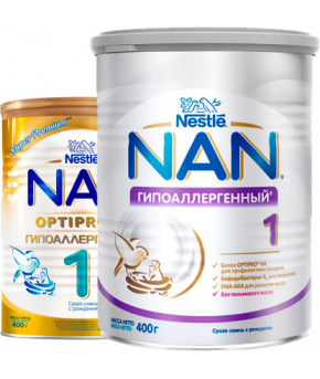 Смесь Nestle NAN 1 гипоаллергенный 400г