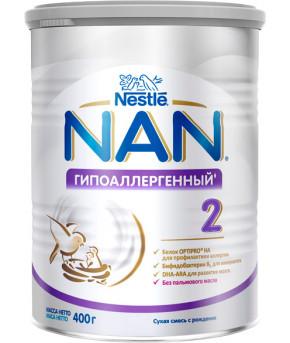 Смесь Nestle NAN 2 гипоаллергенный 400г