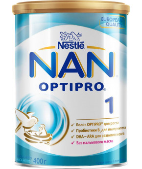 Смесь Nestle NAN 1 OPTIPRO молочная 400г