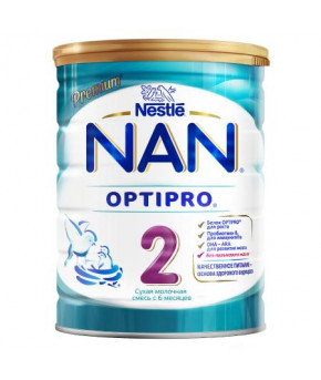 Смесь Nestle NAN 2 OPTIPRO молочная 800г