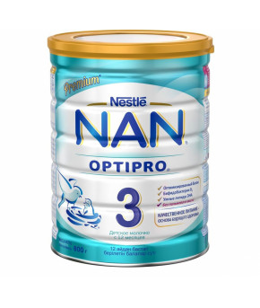 Смесь Nestle NAN 3 молочная, 800гр