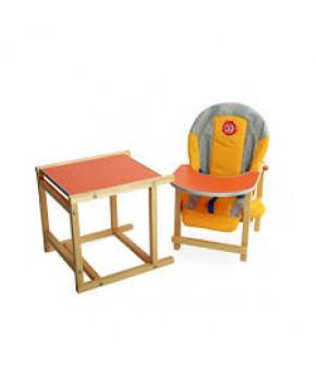 Стол-стул трансформер Малыш, голубой