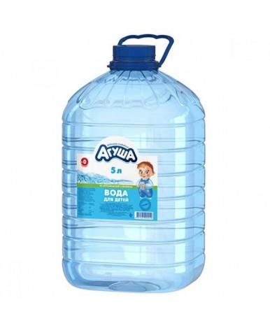 """Вода """"Агуша"""" Зеленая долина питьевая, 5л"""