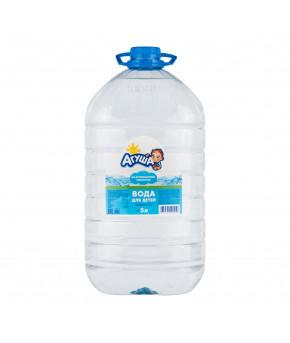 Вода Агуша Детская Зеленая долина питьевая 5л