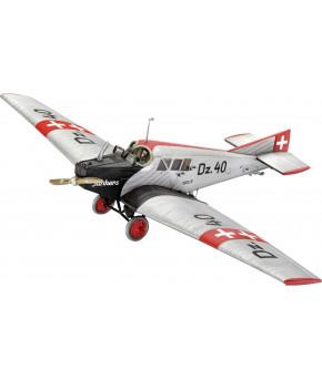 Cборная модель Revell Немецкий пассажирский самолет Junkers F.13 1:72