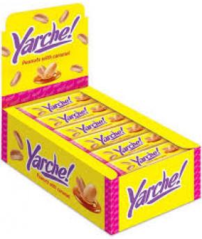 Батончик глазированный Yarche с арахисом 50г