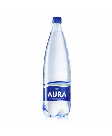 Вода Aura питьевая газированная минерализованная 1,0л