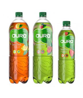 Напиток AURA Iced Tea зеленый чай со вкусом лесных ягод 0,5л