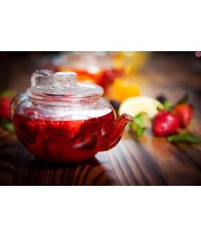Напиток AURA Iced Tea Улун со вкусом клубники 0,5л