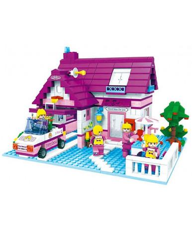 Конструктор Дом с гаражом