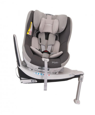 Автокресло Coletto Mokka isofix Grey (0-18кг)