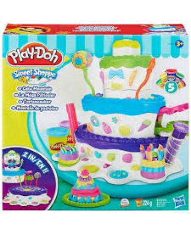 """PLAY-DOH. Набор пластилина """"Праздничный торт"""" 3+"""