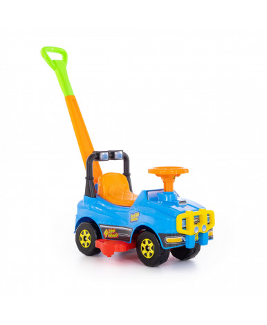 Автомобиль Polesie Джип-каталка с ручкой - №4, голубой
