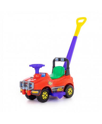 Автомобиль Polesie Джип-каталка с ручкой - №4, красный