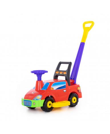 Автомобиль-каталка Polesie Пикап, с ручкой - №3, красный