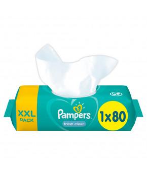 Салфетки влажные Pampers Baby Fresh Clean 80шт