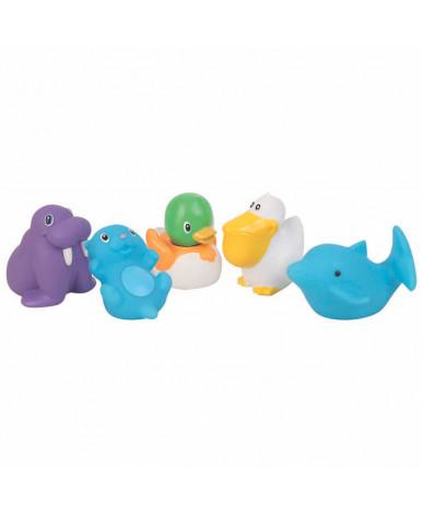 Игрушка для ванны Жители моря из ПВХ пластизоля