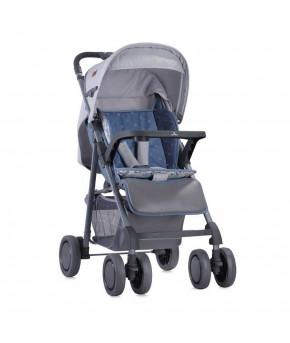 Детская коляска Lorelli Aero Grey Maps 2в1