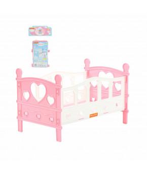 Кроватка для кукол Полесье сборная №2 (5 элементов)
