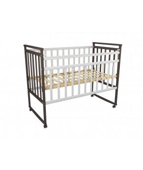 Кровать детская Фа-Мебель Дарья 3 Венге/белый