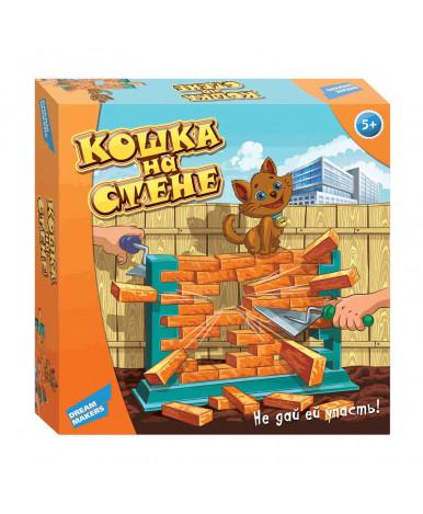 """Игра настольная детская""""Кошка на стене"""""""