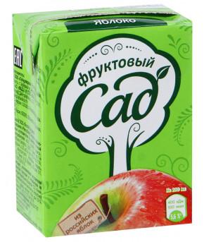Нектар Фруктовый сад Яблочный 200мл