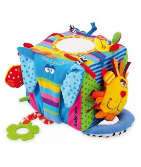 Развивающая игрушка Baby mix куб мягкий