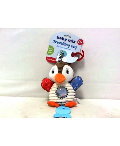 Подвеска BabyMix Пингвин с вибрацией