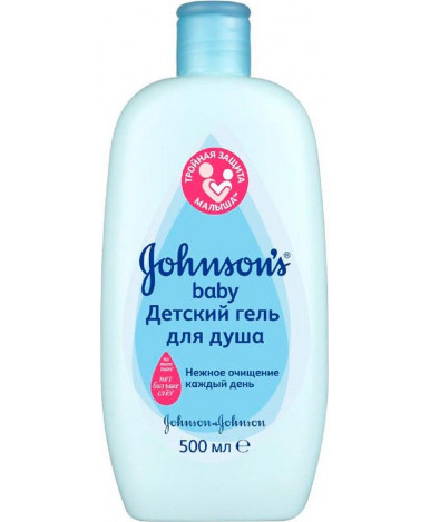 "Гель-пена ""Johnsons Baby"" для душа, 300мл"