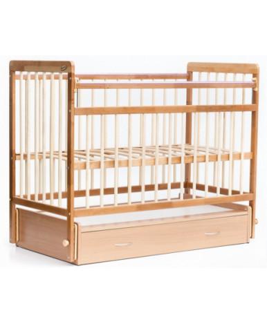 Кровать детская Bambini Euro Style 04, натуральный