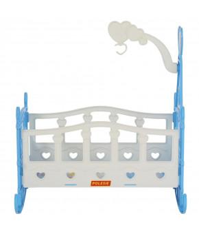 Кроватка для кукол Полесье качалка-сборная