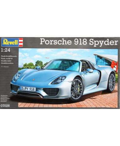 Набор со сборной моделью Revell Автомобиль Porshe 918 Spyder (1:24)