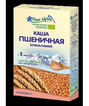 Каша Fleur Alpine Organic пшеничная безмолочная 175г
