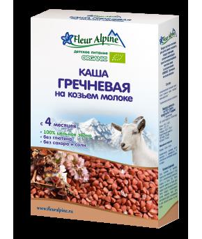 """Каша """"Fleur Alpine"""" Organic гречневая молочная, 200гр"""