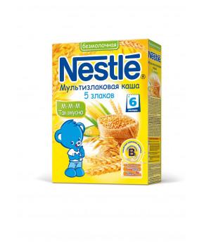 """Каша """"Nestle"""" мультизлаковая 5 злаков безмолочная, 200гр"""