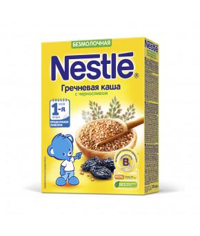 "Каша ""Nestle"" гречневая с черносливом безмолочная, 200гр"