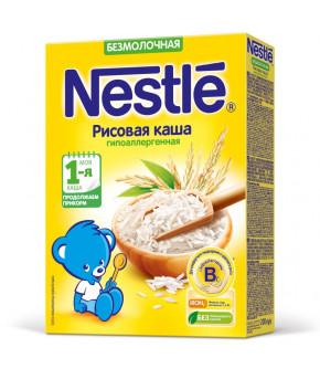 Каша Nestle рисовая гипоаллергенная безмолочная 200г