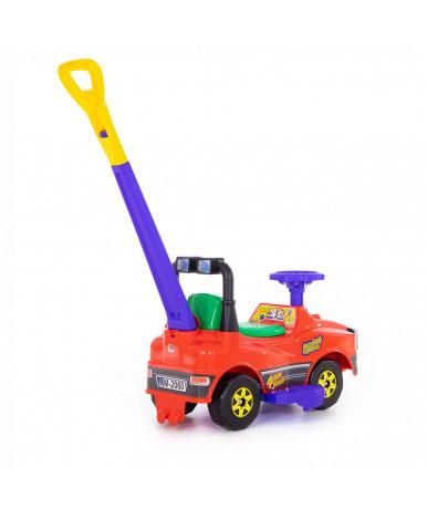 Автомобиль Polesie Джип-каталка с ручкой - №3, красный