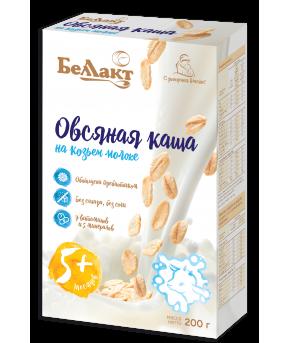 Каша Беллакт на козьем молоке овсяная 200г