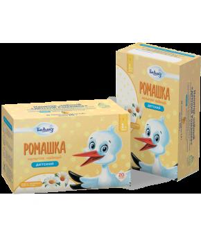 Напиток чайный Беллакт Детский Ромашка (20 фильтр-пакетов по 1г), 20г