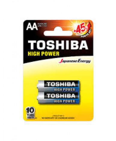 Батарейки Toshiba LR03GCP BP-4 High Power Alkaline