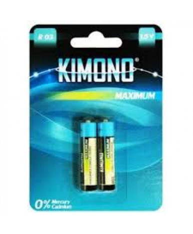 Батарейки Kimono R03/BL2 AAA(Micro) 1.5B