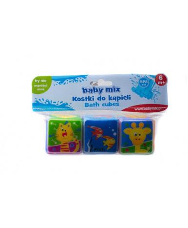 Игрушка для купания Baby mix, пластиковая Кубики для купания