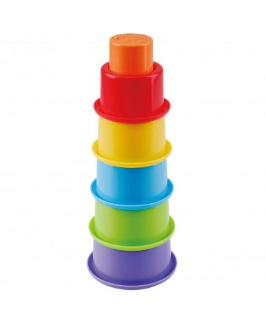 Игрушка для ванны Baby mix пластиковая Пирамидка